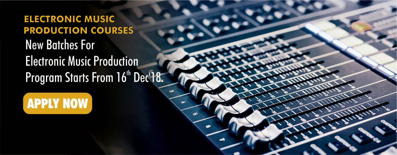 Top Training Institute For Electronic Music Production In Hyderabad