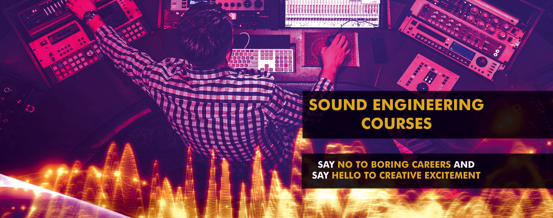 PATSAV - Best Institute for Sound Engineering in Hyderabad | Delhi