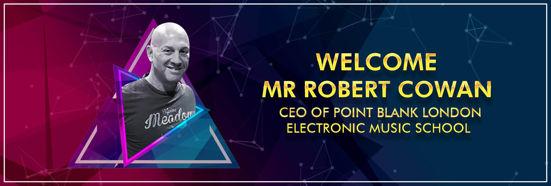 Robert Cowan, CEO of Point Blank, London